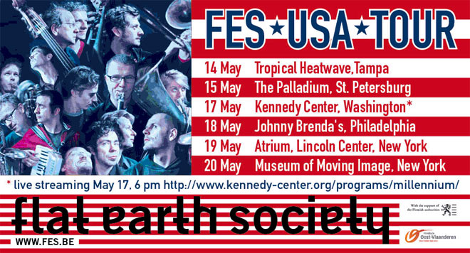 Flat Earth Society US Tour Promo
